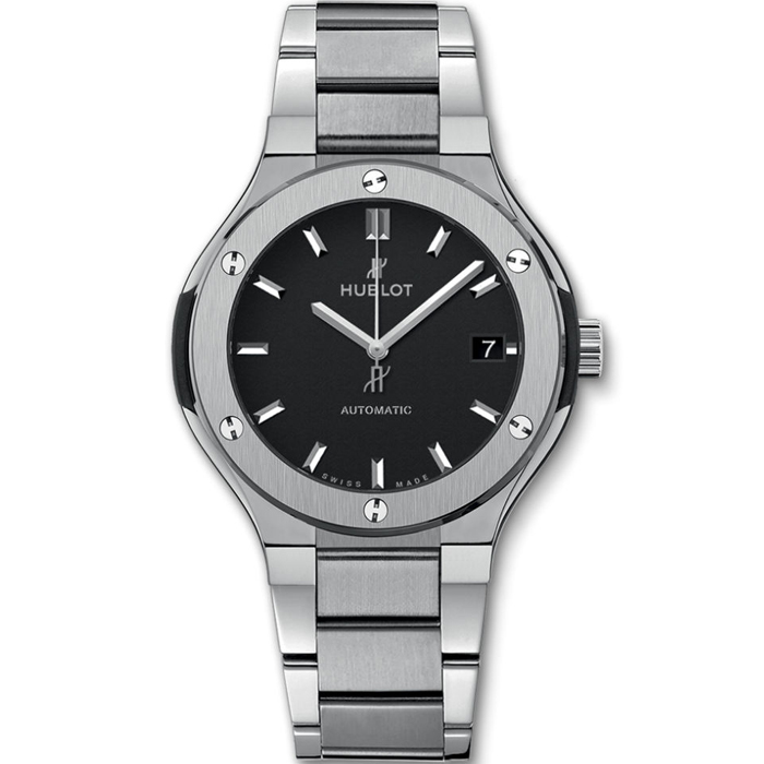 [추가비용없음] 위블로 HUBLOT 568.NX.1170.NX Classic Fusion Titanium Bracelet