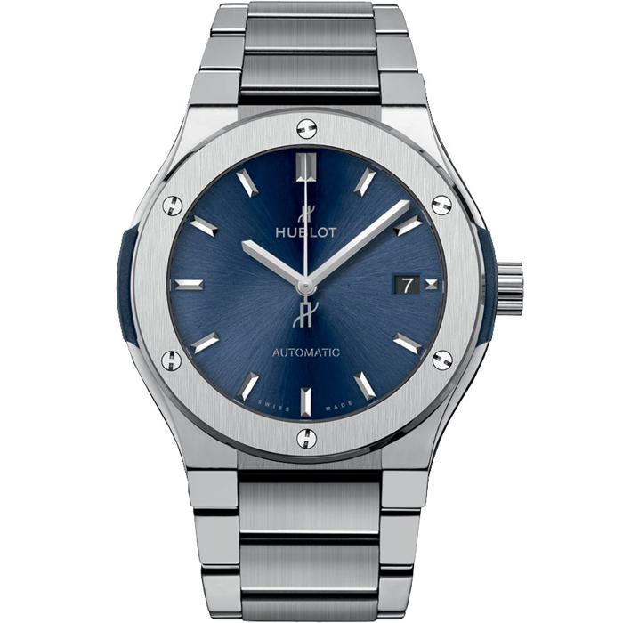 [추가비용없음] 위블로 팔찌 클래식 블루 퓨젼 타이타니움 HUBLOT 568.NX.7170.NX Classic Fusion Titanium Blue Bracelet 568.NX.7170.NX