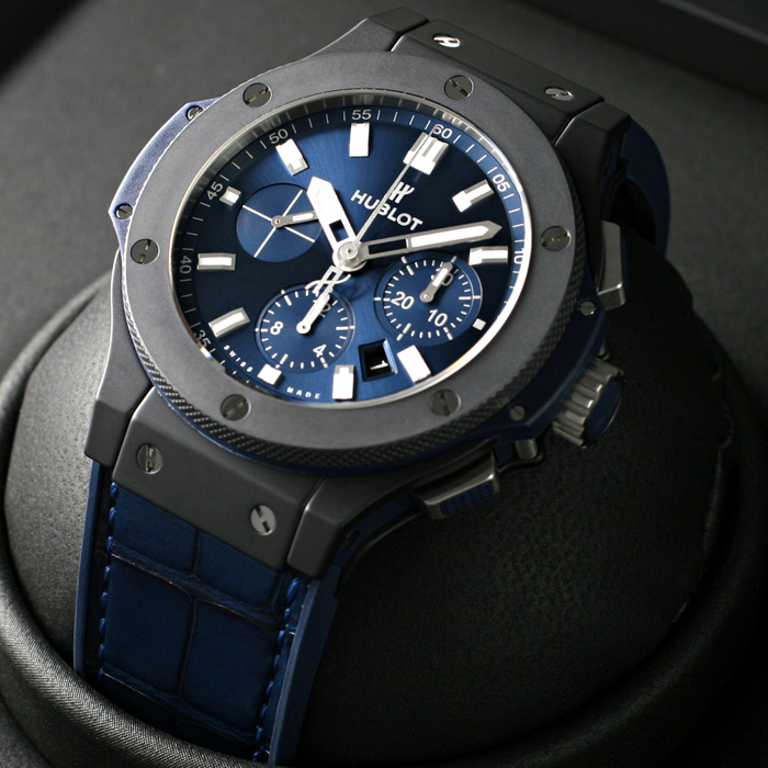 [추가비용없음] 위블로 HUBLOT 301.CI.7170.LR HUBLOT BIG BANG CERAMIC BLUE