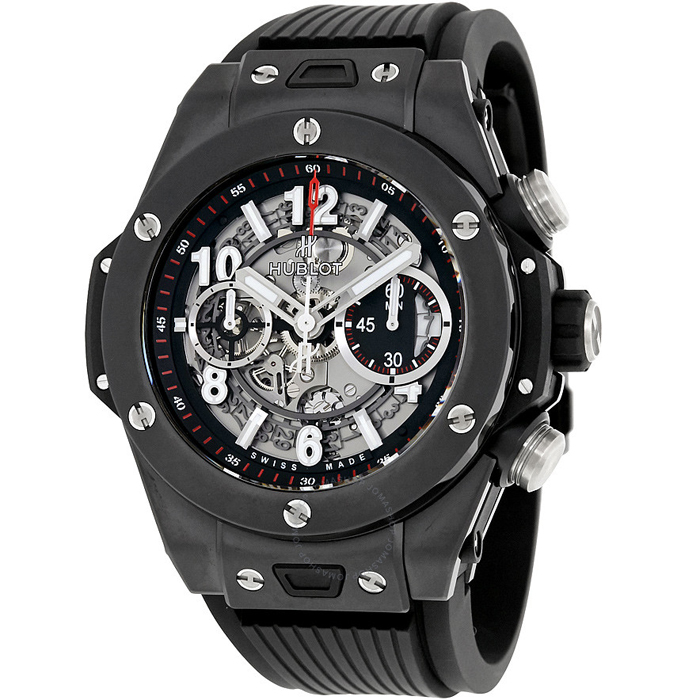 [추가비용없음] 위블로 HUBLOT 411.CI.1170.RX Big Bang Unico Black Magic