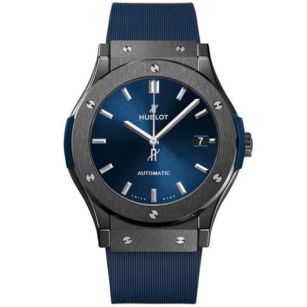 [추가비용없음] 위블로 511. Blue.7170.RX HUBLOT 511.CM.7170.RX Classic Fusion Ceramic Blue 45 mm
