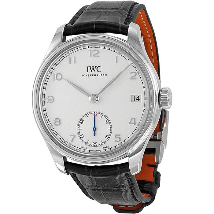 [추가비용없음] 아이더블유씨 IWC IW510203 43mm 핸드 와인드 8 DAYS Portuguese 남성