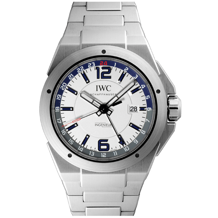 아이더블유씨 IWC Ingenieur White Dial Stainless Steel Mens Watch IW324404