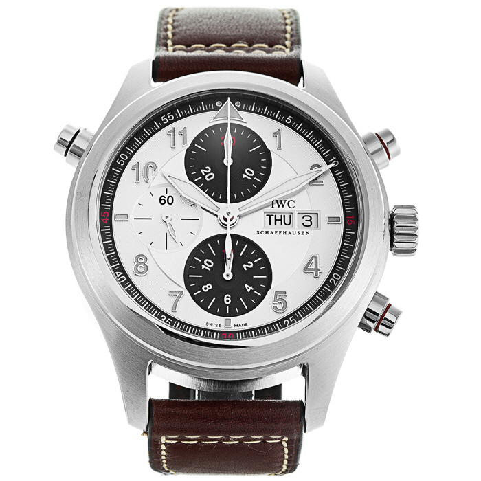 [추가비용없음] IWC IW371802 Pilot 파일럿 Spitfire Double Chronograph 44mm
