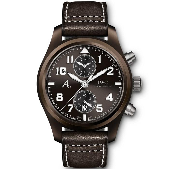 [추가비용없음] IWC IW388004 IWC Pilot's Chronograph Saint Exupery THE LAST FLIGHT Mens Watch