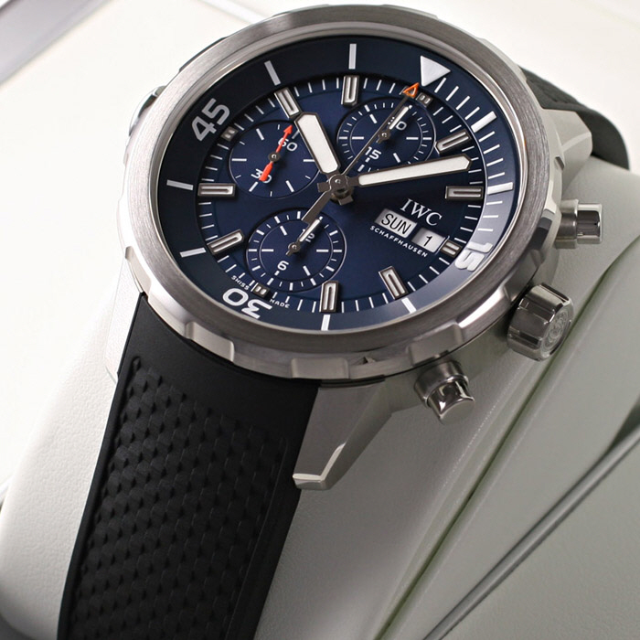 [추가비용없음] IWC IW376805 Aquatimer Chronograph Jacques-Yves Cousteau 44mm
