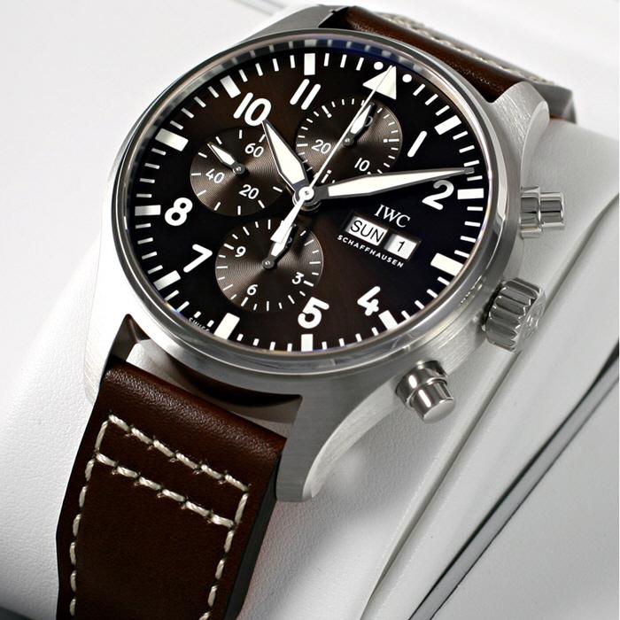 [추가비용없음] IWC IW377713 Pilots Watch Chronograph 43mm