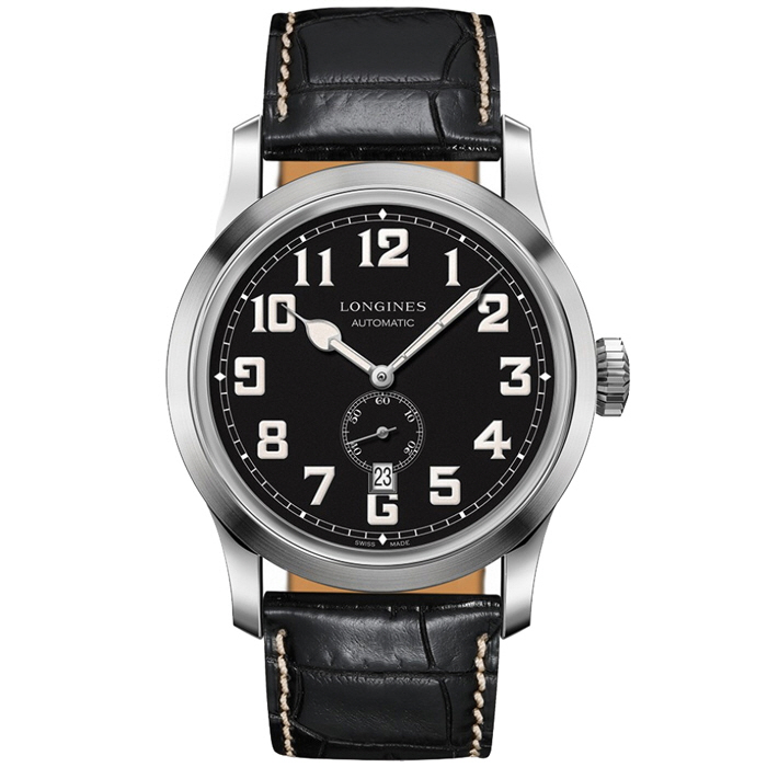 [추가비용없음] 론진 LONGINES L2.811.4.53.0 Heritage Military 44mm