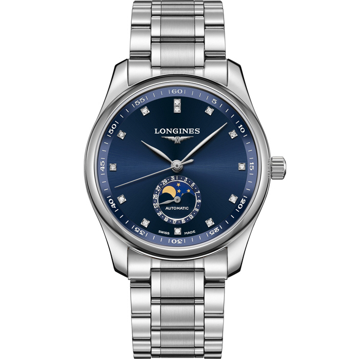[추가비용없음] 론진 LONGINES L2.909.4.97.6 Master Collection 40 Moonphase