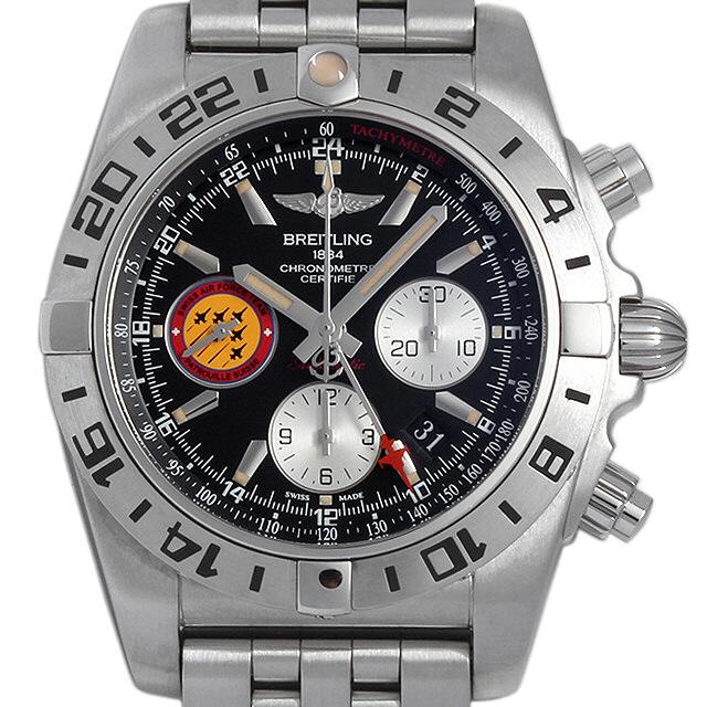 [추가비용없음] 브라이틀링 BREITLING A042BPSPS Chronomat 44 GMT Patrouille Suisse 50th Anniversary Limited Edition