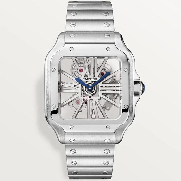 [추가비용없음] 까르띠에 Cartier WHSA0015 Santos de Cartier Large