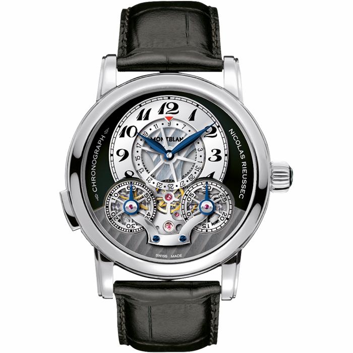 [추가비용없음] 몽블랑 MontBlanc 43mm 남성 104981 자동 태엽 시계