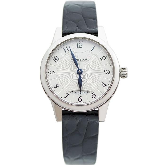 [추가비용없음] 몽블랑 MontBlanc 111206 Montblanc Boheme Silver Dial 여성
