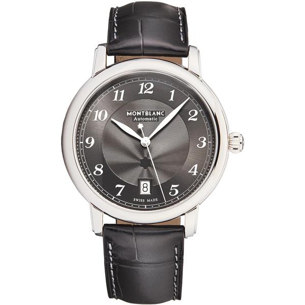 [추가비용없음] MONTBLANC 118517 Star Legacy Automatic Date Grey Dial Mens Watch