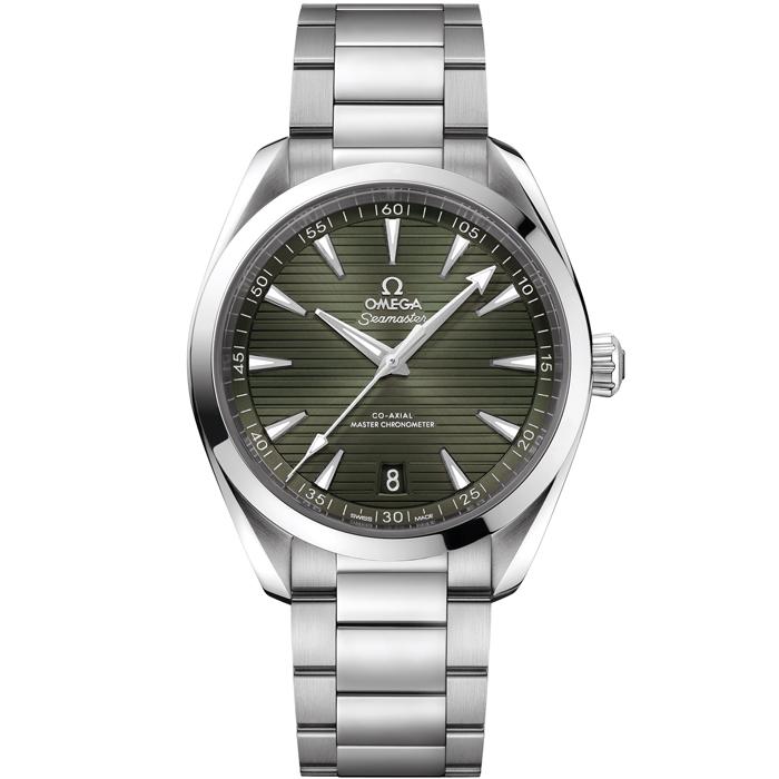 [추가비용없음] 오메가 OMEGA 220.10.41.21.10.001 Seamaster Aqua Terra 150m Co-Axial Master Chronometer 그린