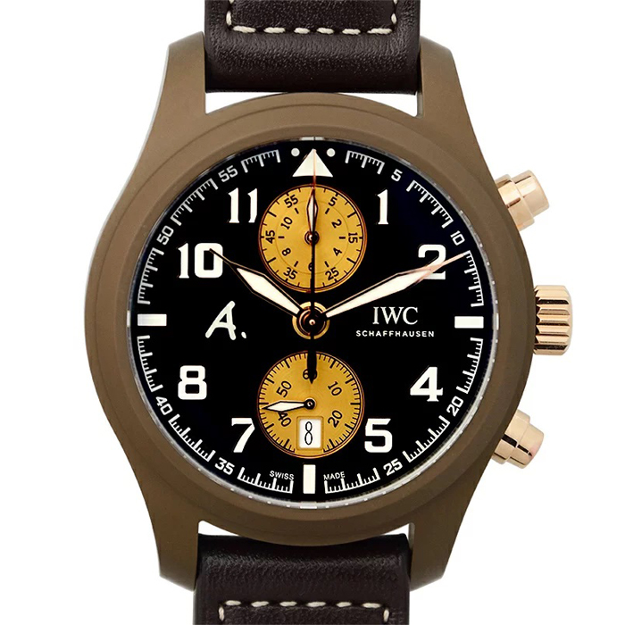 [추가비용없음] IWC IW388006 IWC Schaffhausen Pilot's Watch Chronograph Edition The Last Fligh