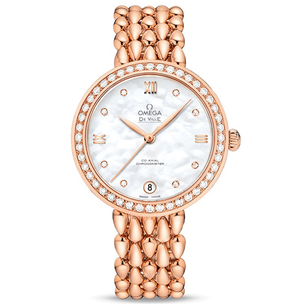 [추가비용없음] 오메가 OMEGA DE VILLE LADYMATIC CO-AXIAL 33MM 424.55.33.20.55.007