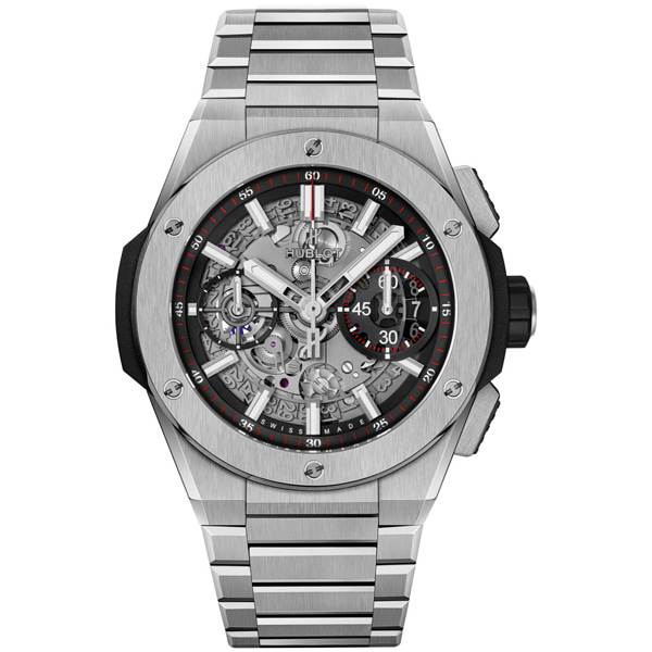 [추가비용없음] 위블로 HUBLOT 빅뱅 451.NX.1170.NX HUBLOT Big Bang Integral Titanium 42mm