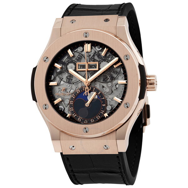 [추가비용없음] 위블로 HUBLOT 517.OX.0180.LR Classic Fusion Moonphase 45mm