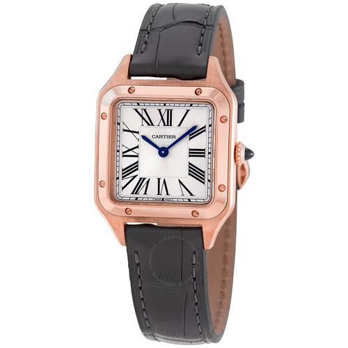 [추가비용없음] 까르띠에 Cartier WGSA0022 SANTOS DUMONT Small model, 18K pink gold