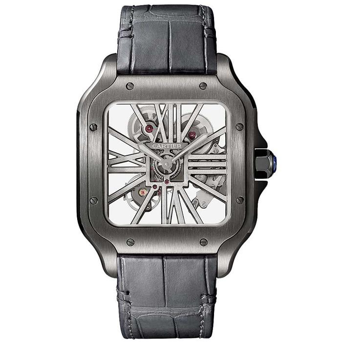 [추가비용없음] 까르띠에 산토스 Cartier Santos WHSA0009 까르띠에 43.5mm
