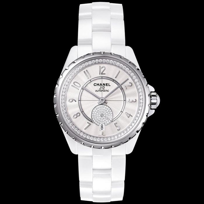 [추가비용없음] CHANEL H3841 J12 8P 샤넬 다이아몬드 여성 시계