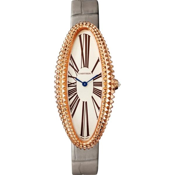 [추가비용없음] 까르띠에 Cartier WGBA0009 미디움 Baignoire Allongee 여성