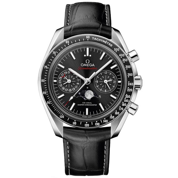 [추가비용없음] 오메가 304.33.44.52.01.001 OMEGA Speedmaster Moonphase Co-Axial Master Chronometer