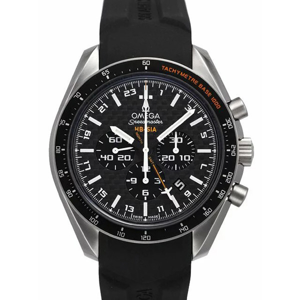 [추가비용없음] 오메가 OMEGA Speedmaster 321.92.44.52.01.001 HB-SIA Co-Axial GMT Chronograph