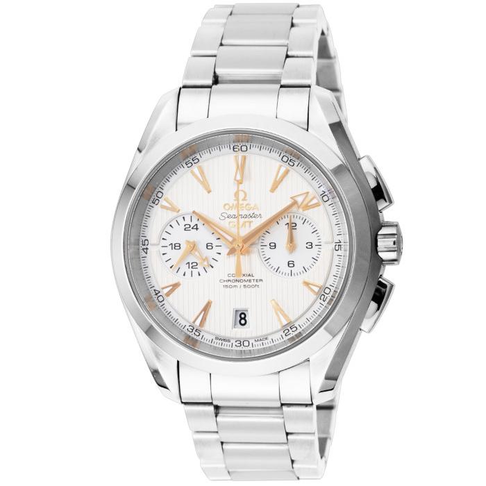 [추가비용없음] 오메가 OMEGA 231.10.43.52.02.001 Seamaster Aqua Terra Chronograph GMT Co-Axial 43mm
