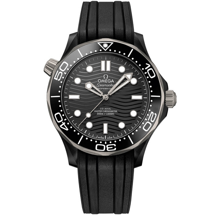 [추가비용없음] 오메가 OMEGA 210.92.44.20.01.001 Seamaster Diver 300M In Ceramic And Titanium