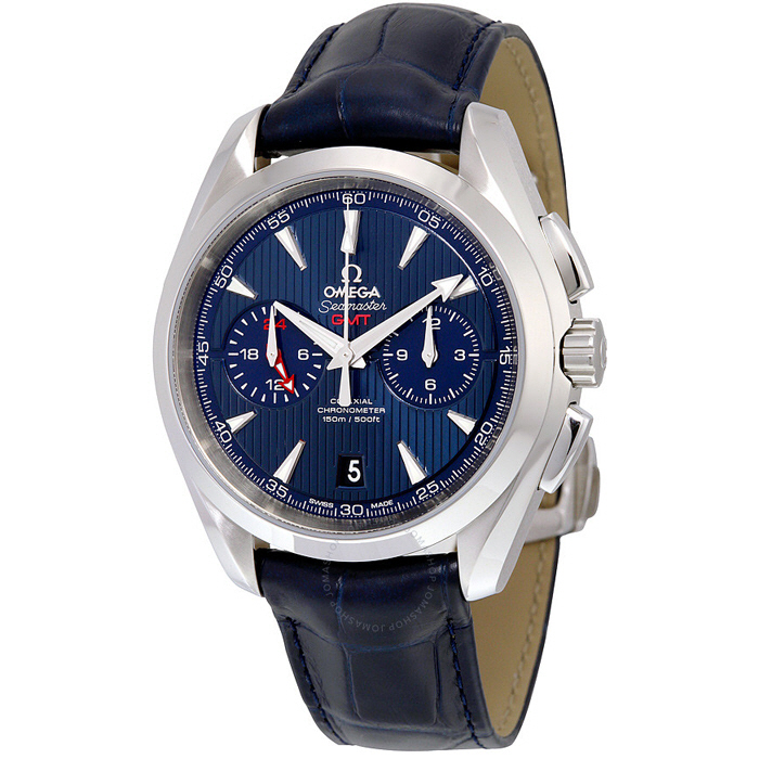 [추가비용없음] 오메가 OMEGA 231.13.43.52.03.001 Seamaster CO-AXIAL GMT CHRONOGRAPH 43MM AQUA TERRA 150M 오메가