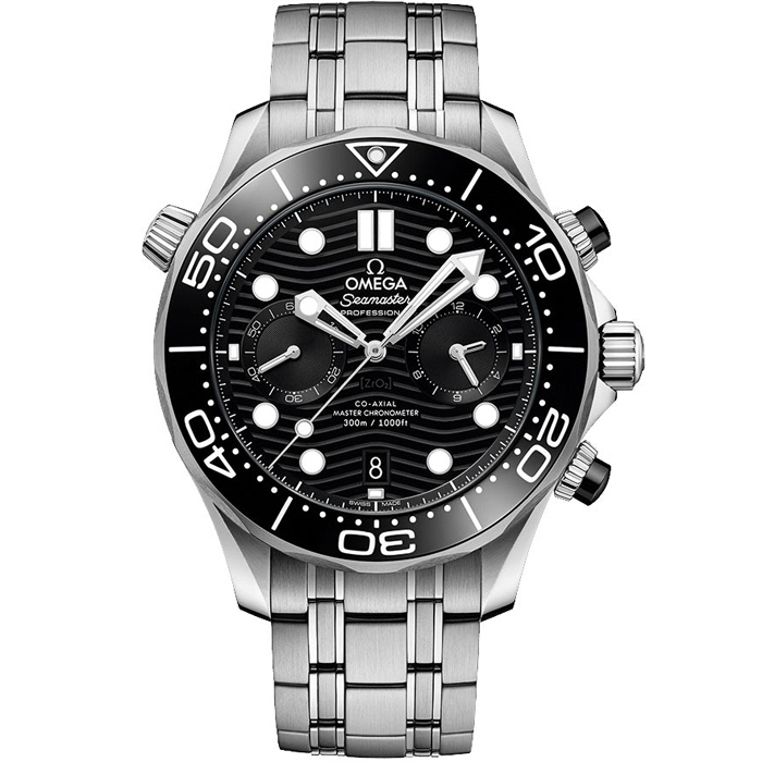 [추가비용없음] 오메가 OMEGA 210.30.44.51.01.001 Seamaster Diver 300m Co-Axial Master Chronometer Chronograph 44mm