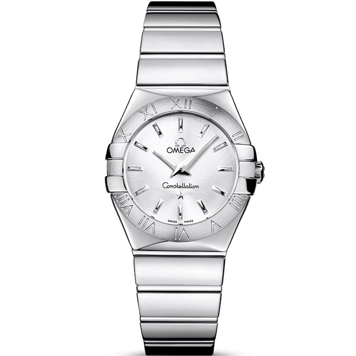 [추가비용없음] OMEGA 오메가 123.10.27.60.02.002 Constellation polished quartz 여성