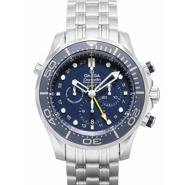[추가비용없음] 오메가 OMEGA 212.30.44.52.03.001 Seamaster Professional 300 Co-Axial GMT