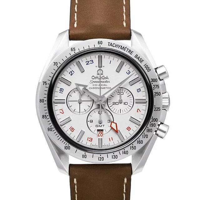 [추가비용없음] OMEGA 오메가 3881.30.37 Speedmaster Broad Arrow Co-Axial GMT