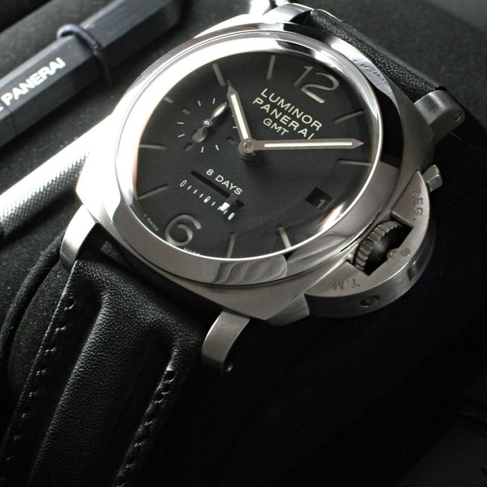 [추가비용없음] 파네라이 PANERAI PAM00233 LUMINOR 1950 GMT 파네라이 44mm