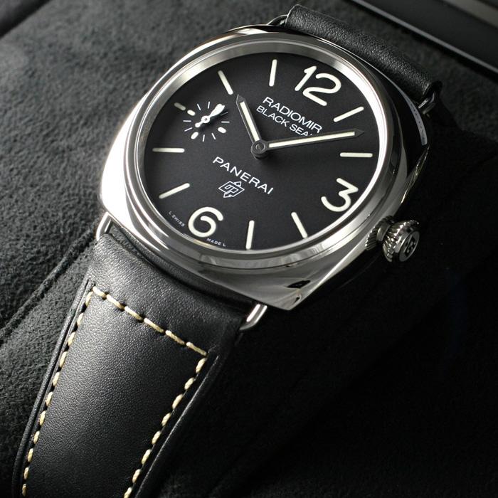 [추가비용없음] 파네라이 PANERAI PAM00754 Radiomir Black Seal logo 45mm