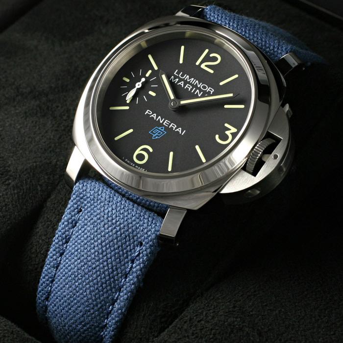 [추가비용없음] 파네라이 PANERAI PAM00777 Luminor Marina Black Dial Watch