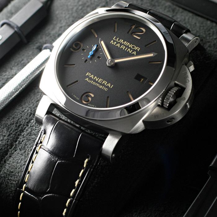 [추가비용없음] 파네라이 PANERAI Luminor Marina 1950 PAM01312 Automatic Watch