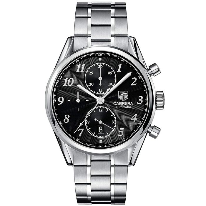 [추가비용없음] 태그호이어 TAG Heuer CAS2110.BA0730 Carrera Heritage Chronograph 41mm