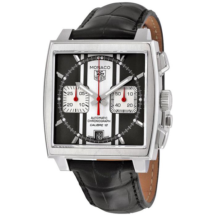 [추가비용없음] 태그호이어 TAG Heuer CAW211N.FC6177 Monaco Chronograph Caribre 12 Boutique Edition