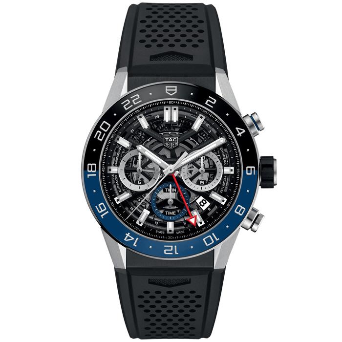 [추가비용없음] 태그호이어 TAG Heuer CBG2A1Z.FT6157 Carrera Calibre Heuer02 Chronograph GMT