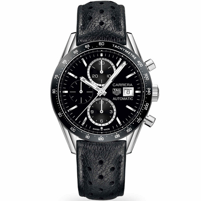[추가비용없음] 태그 호이어 TAG Heuer CV201AL.FC6357 Carrera Chronograph