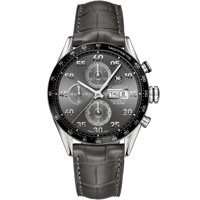 [추가비용없음] 태그호이어 TAG Heuer CV2A1L.FC6313 Carrera Tachymetre Chronograph Day Date Limited Edition