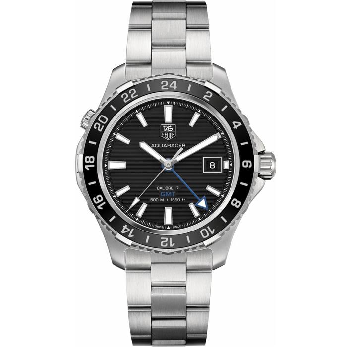 [추가비용없음] 태그호이어 WAK211A.BA0830 Aquaracer 500m Caribre 7 GMT