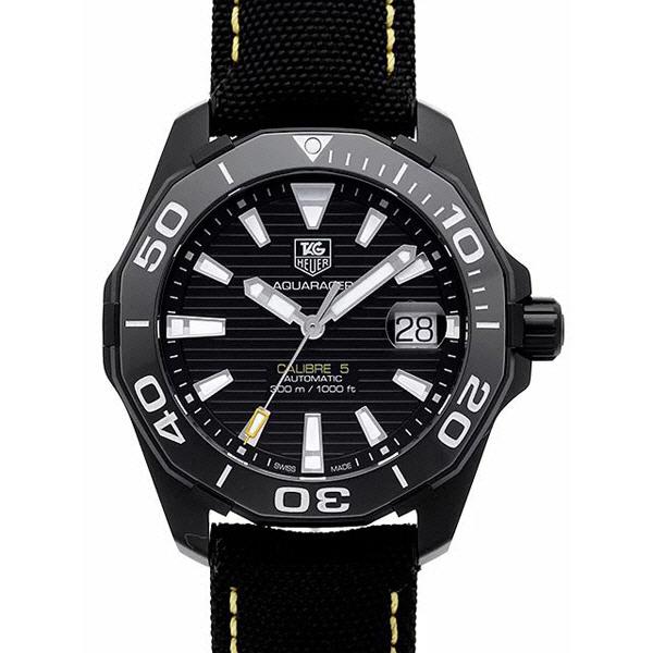 [추가비용없음] 태그호이어 TAG Heuer WAY218A.FC6362 Aquaracer 300m Caribre 5 Black Version