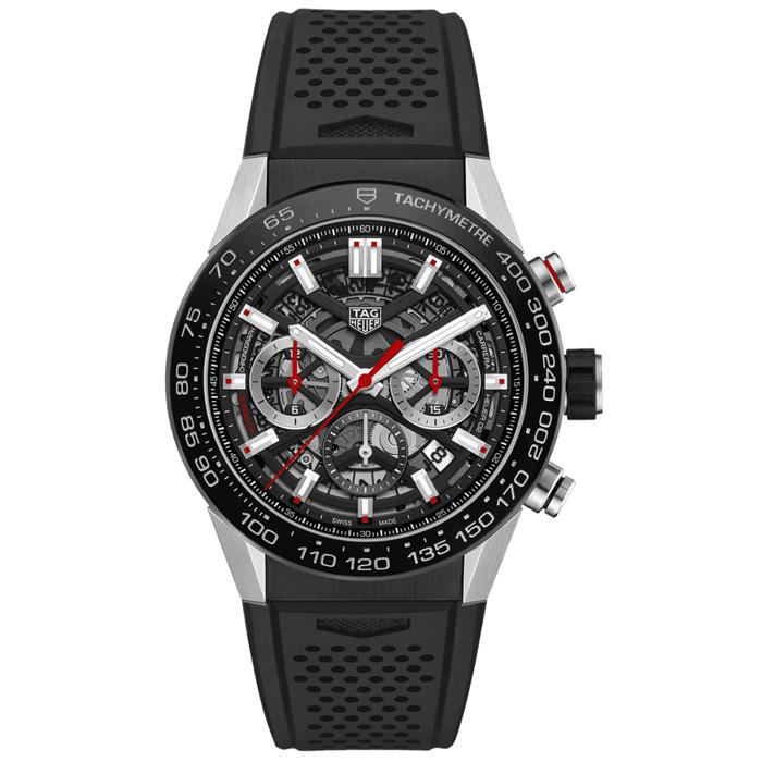 [추가비용없음] 태그호이어 TAG Heuer CBG2090.FT6145 Carrera Calibre Heuer 02 Automatic Chronograph 43mm