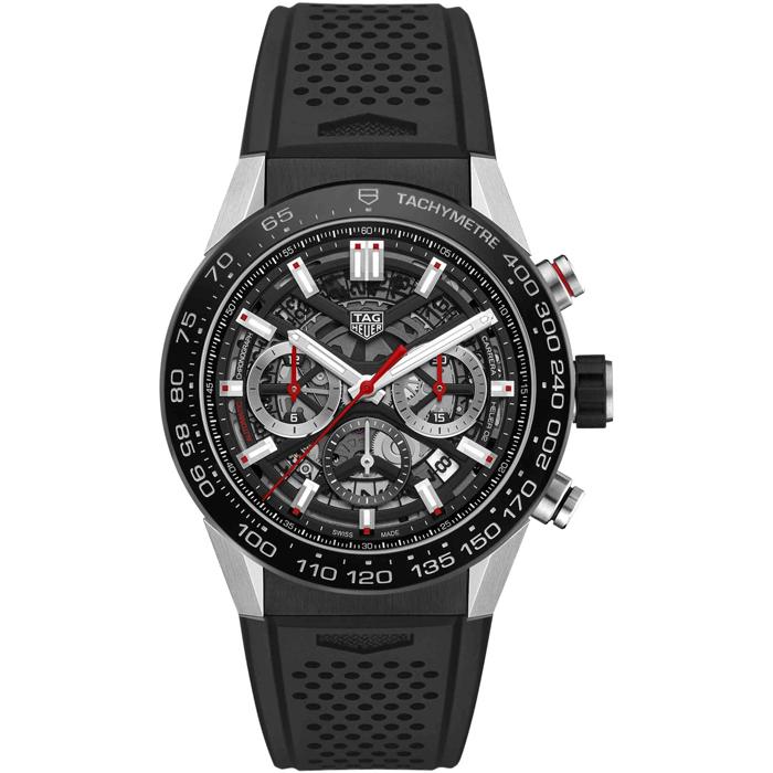 태그호이어 TAG Heuer CBG2A10.FT6168 Ungetragene Carrera Calibre Heuer 02 Chronograph 45mm