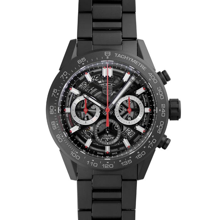 [추가비용없음] 태그호이어 TAG Heuer CBG2A90.BH0653 Carrera Calibre Heuer02 Chronograph GMT